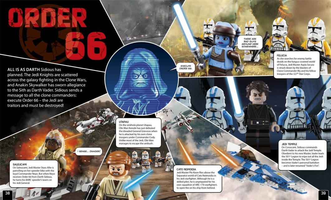 Enciclopedia lego star wars il lato oscuro in inglese - Lego star wars 1 2 3 4 5 6 ...
